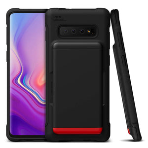 VRS Damda Shield Galaxy S10+ Plus Case - Matte Black