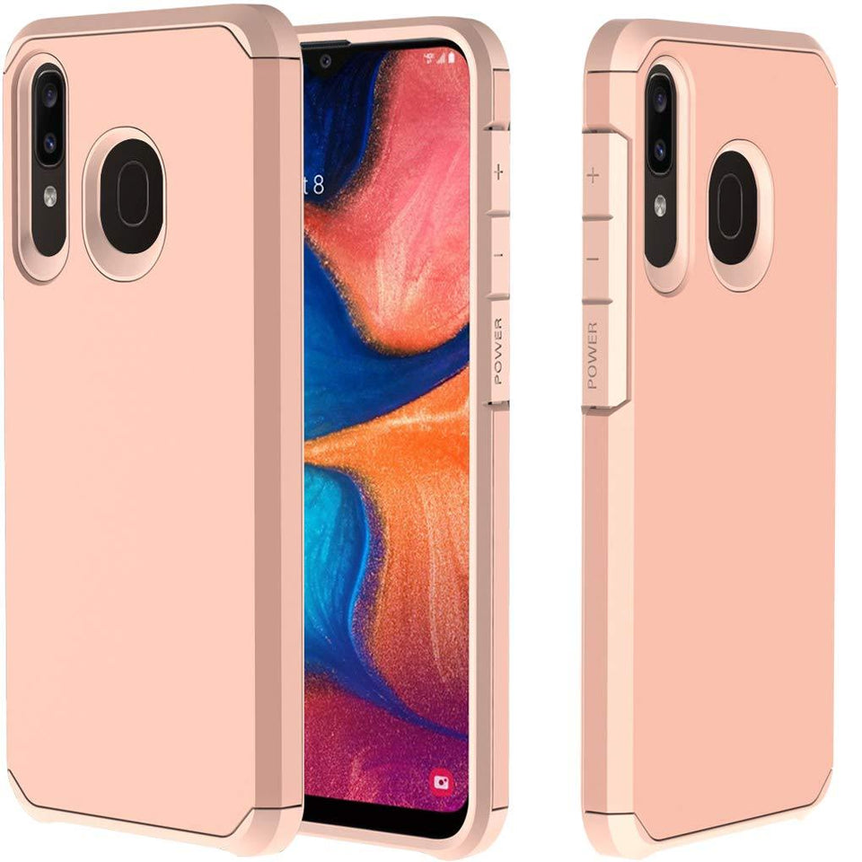 Neo Astronoot Galaxy A20 (2019) Case - Rose Gold/Rose Gold