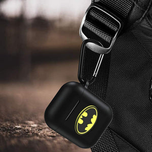 Soft Silicone Cover for Apple AirPods Charging Case - 3D Batman
