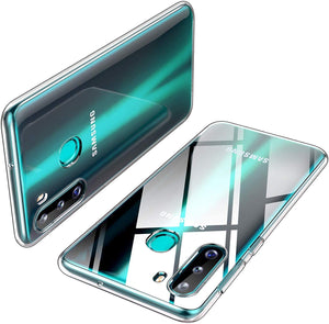 Anti-Scratch Crystal Clear Galaxy A21 (2020) Case - Transparent Clear
