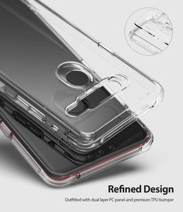 Ringke Fusion Clear Transparent LG G8 ThinQ Case - Clear