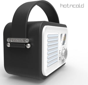HotNCold Vintage Outdoor Bluetooth Wireless Boombox Speaker