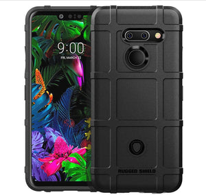 MPC Rugged Bumper LG G8 ThinQ Case - Black