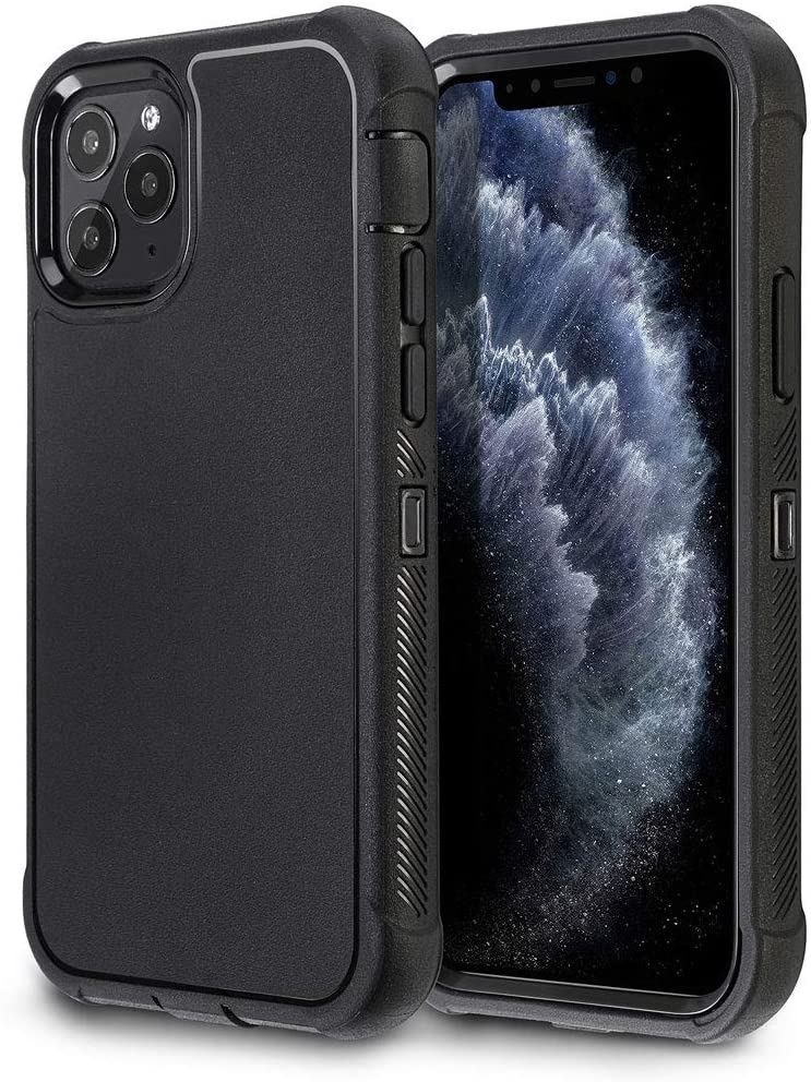 Vanguard Defender Shockproof iPhone 11 Pro Case - Black