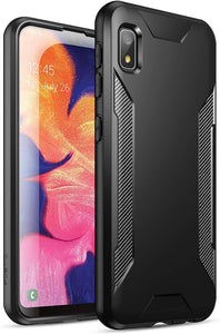 Poetic Karbon Shield Series Galaxy A10e Case - Black