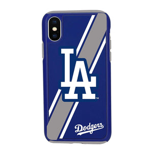 MLB Dual Layered Protective iPhone XS Max Case - LA Dodgers