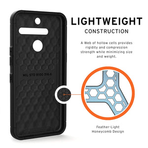 UAG Rugged Case Cover [Scout Series] for LG V50 ThinQ - Black