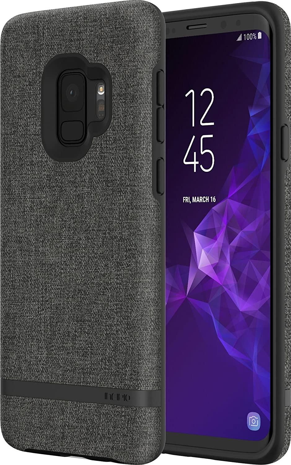 Incipio Carnaby Fabric Soft Cotton Texture Galaxy S9 Case