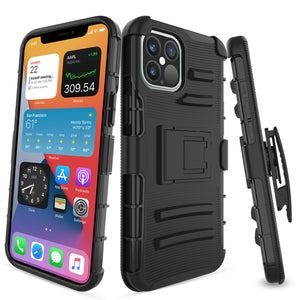 Advanced Armor Kickstand iPhone 12 / 12 Pro Case Holster