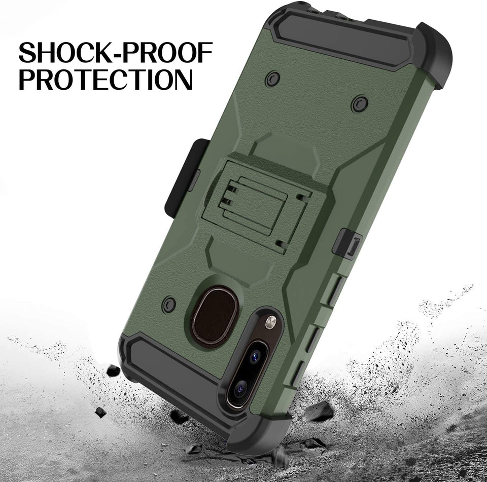 Storm Tank Galaxy A50 (2019) Case Holster - Army Green *Limited