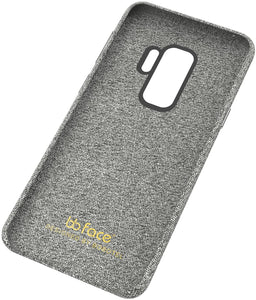 Fabric Soft Cotton Texture Galaxy S9 Case - Grey