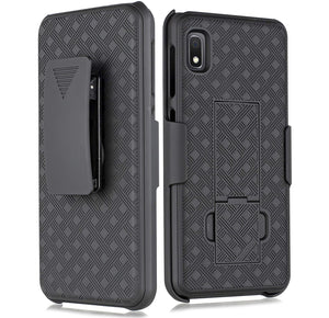 OEM Fitted Shell Holster Galaxy A10e Kickstand Case
