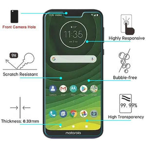Screen Protector for Motorola Moto G7 Power / Supra Tempered Glass