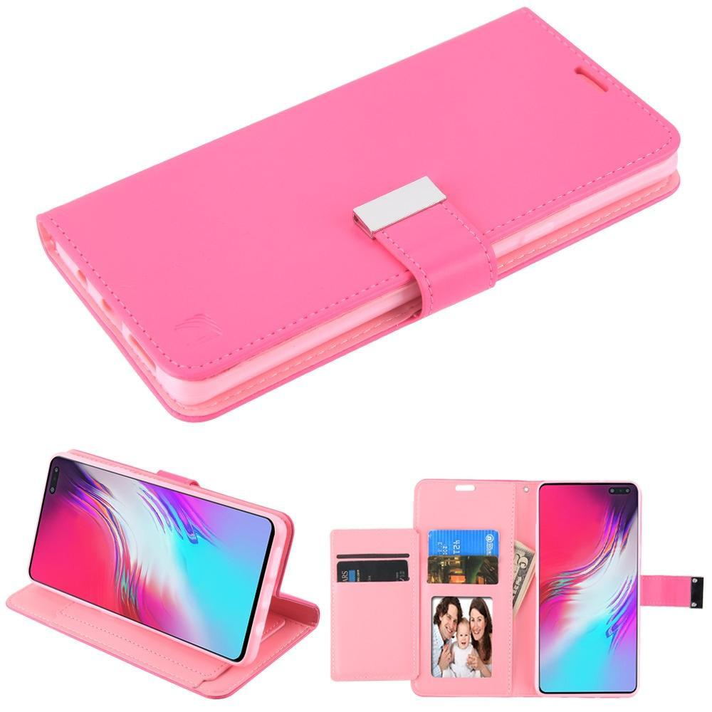 MyJacket Xtra Series Wallet Galaxy S10 5G Case - Hot Pink