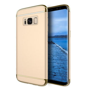 DW Griptech Chrome Frame Galaxy S8 Case - Gold