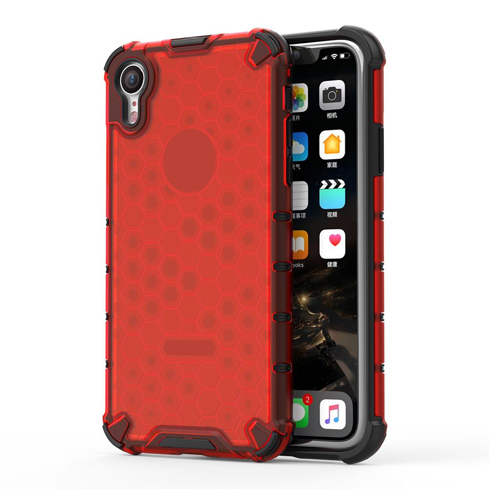 Honeycomb Crystal Shockproof iPhone Xr (6.1