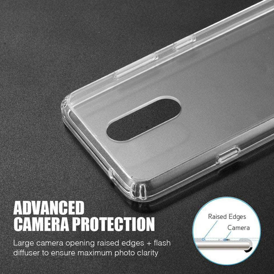 Fusion Candy Bumper LG K40 Case - Clear