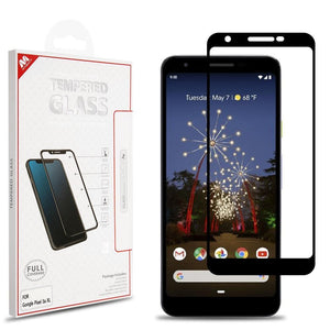 MYBAT Full Coverage Tempered Glass Screen Protector for Google Pixel 3a XL