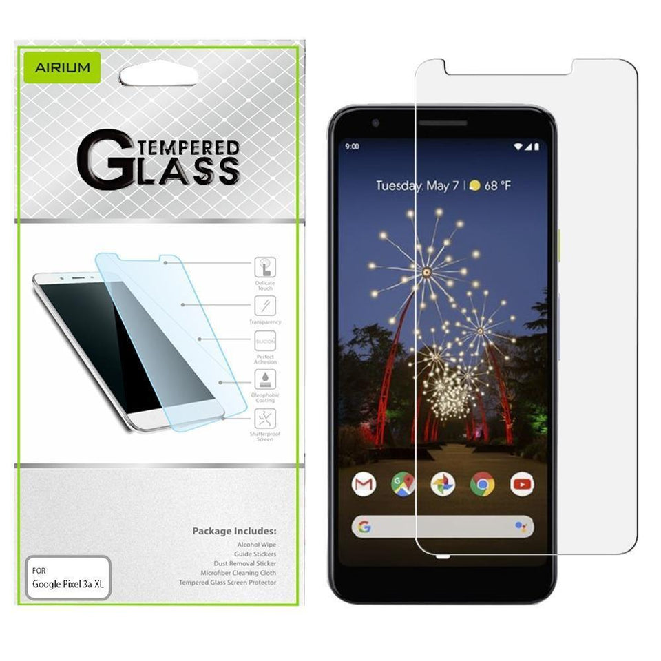 AIRIUM Tempered Glass Screen Protector for Google Pixel 3a XL