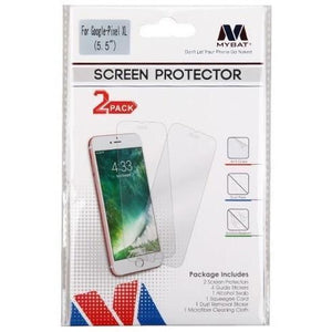 MYBAT Screen Protector for Google Pixel XL - Clear (Twin Pack)