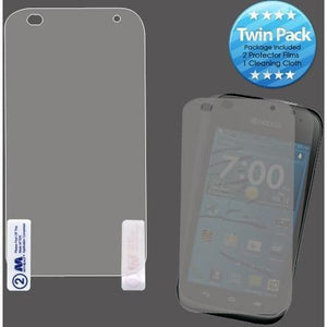 MYBAT Screen Protector for Kyocera Hydro Edge - Clear (Twin Pack)