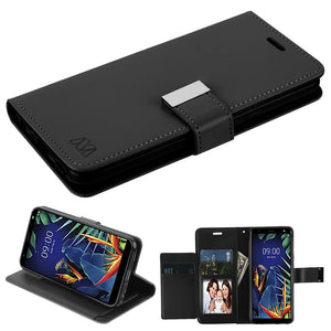MyJacket Xtra Wallet LG K40 Case - Black