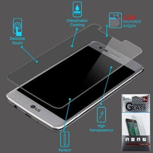MYBAT Screen Protector for LG Aristo / Phoenix 3 - Tempered Glass