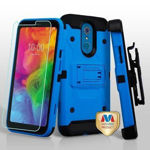 Kinetic Holster Combo LG Q7 / Q7+ Plus Case - Blue