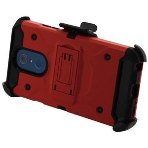 Kinetic Holster Combo LG Q7 / Q7+ Plus Case - Red