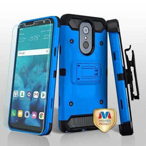Kinetic Total Defender LG Stylo 4 / Stylo 4+ Plus Case Combo - Blue