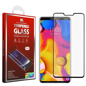 LG V40 ThinQ Tempered Glass Screen Protector - Full Coverage