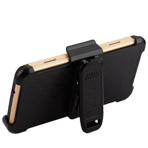 3-in-1 Kinetic Holster LG Aristo 3 / Aristo 2 / Tribute Dynasty Case - Gold