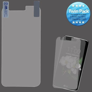 Screen Protector for LG Aristo 3 / Aristo 2 / Tribute Dynasty - Clear (Twin Pack)