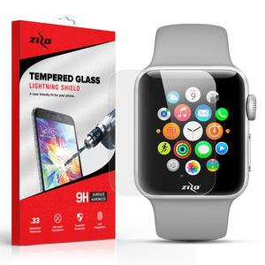 ZV Screen Protector for Apple Watch 38mm - Tempered Glass