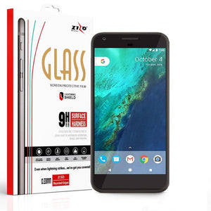 Zizo Premium Screen Protector for Google Pixel - Tempered Glass
