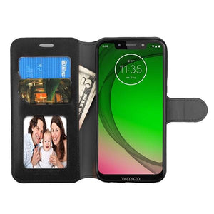 MyJacket Element Series Motorola Moto G7 Play Wallet Case - Black