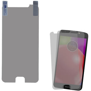 MYBAT Strong Adhesion Screen Protector for moto e4 - Clear (2-pack)