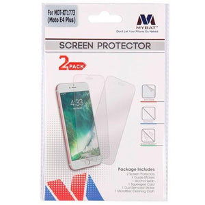 MYBAT Screen Protector for Moto E4 Plus - Clear (2-pack)