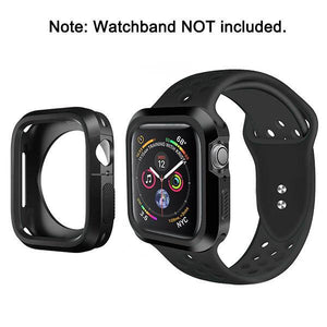 Rugged Candy Skin Cover Apple Watch 4 (44mm) - Black/Black