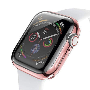 Electroplating Candy Skin Cover Apple Watch 4 (44mm) - Rose Gold