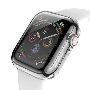 Electroplating Candy Skin Cover Apple Watch 4 (44mm) - Silver