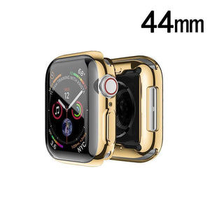 Electroplating Candy Skin Cover Apple Watch 4 (44mm) - Gold