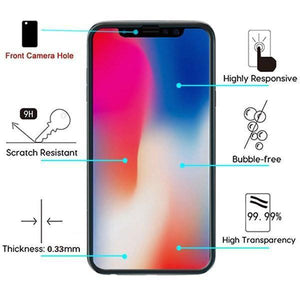 "AIRIUM Tempered Glass Screen Protector iPhone 11 (6.1"") - Full Cover"
