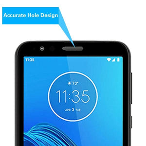 Tempered Glass Screen Protector for motorola moto e6 - Full Coverage