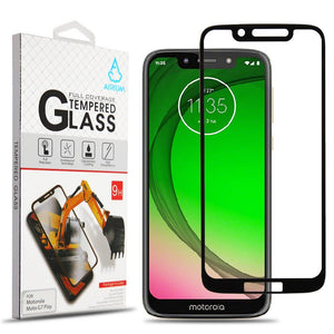 Screen Protector for Motorola Moto G7 Play - Full Cover Tempered Glass
