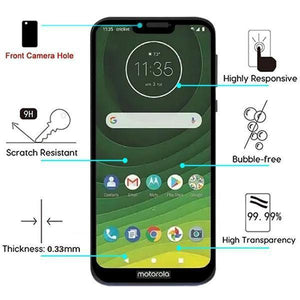 Full Coverage Screen Protector Motorola Moto G7 Power / Supra Tempered Glass