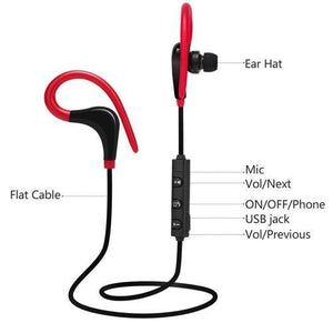 MYBAT BT231 Sport Bluetooth Wireless Stereo Handsfree - Red