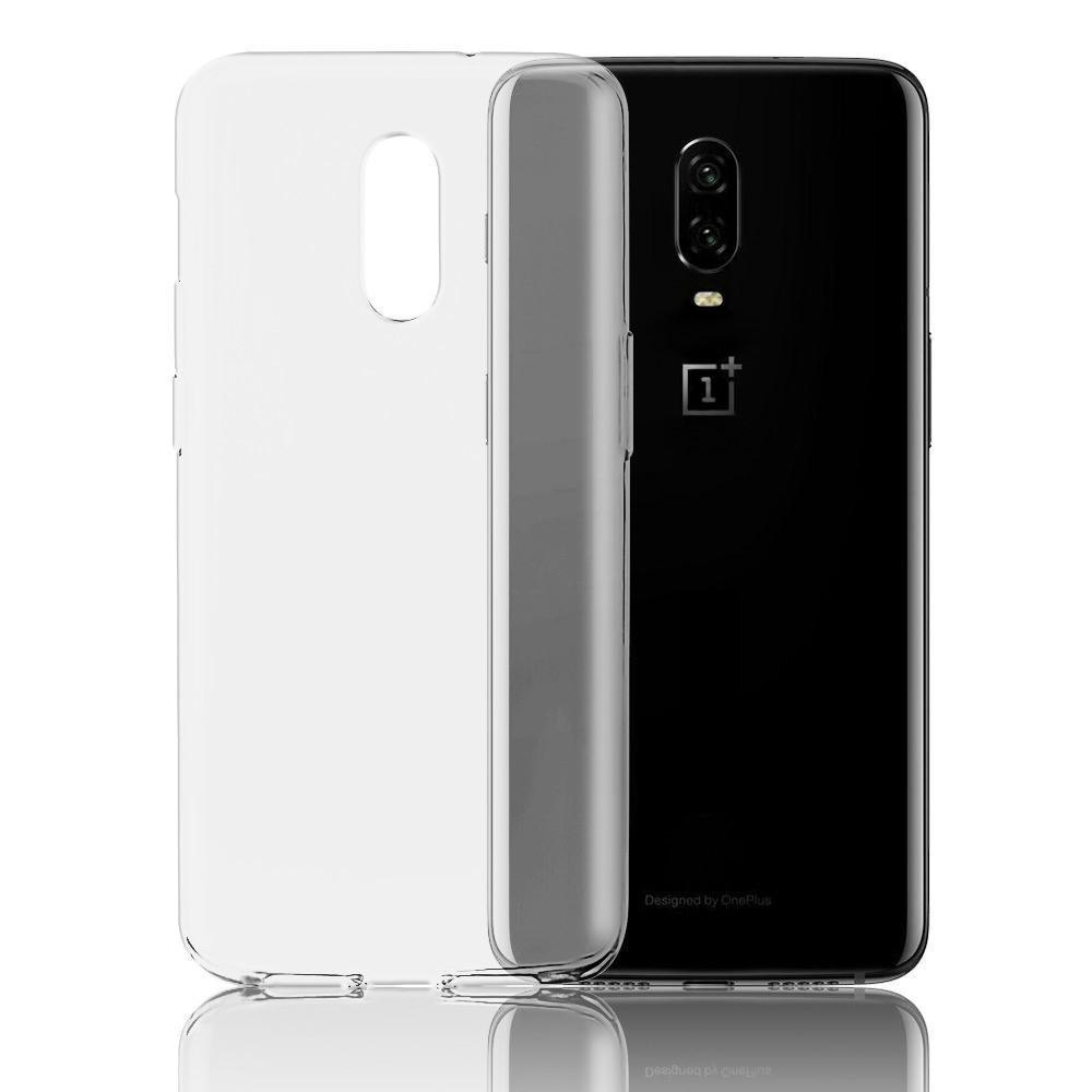 Glossy Candy Skin OnePlus 6T Case - Transparent Clear