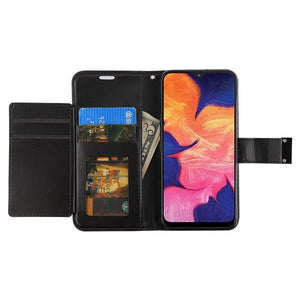 MyJacket Xtra Series Galaxy A10e Wallet Case - Black