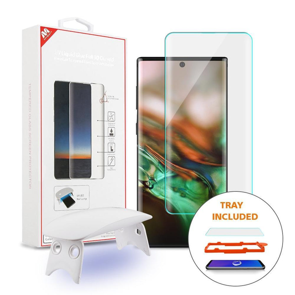 Full 3D Curved Tempered Glass Screen Protector for Galaxy Note 10